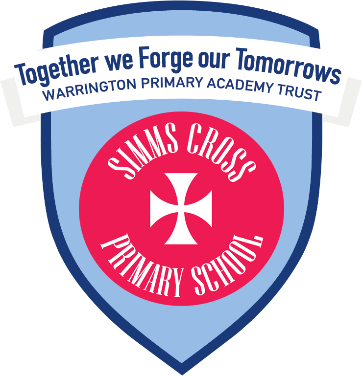 Simms Cross Primary School shield