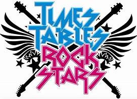 Times Tables Rock Stars graphic